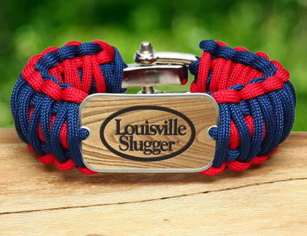 Wide Survival Bracelet - Louisville Slugger® - R-Patriot