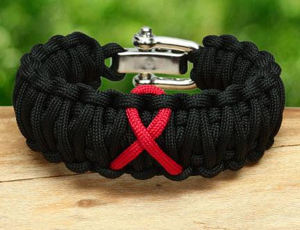 WIDE Survival Bracelet™ - Standard Ribbons