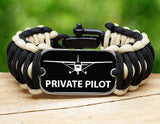 Wide Survival Bracelet™ - Private Pilot Tag