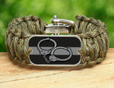Wide Survival Bracelet™ - Corrections Officers Handcuffs