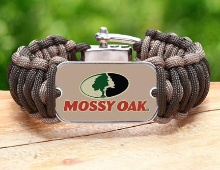 Wide Survival Bracelet™ - Mossy® - OD Green and Desert Tan
