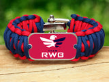 Wide Survival Bracelet™ - Team RWB Red Tag