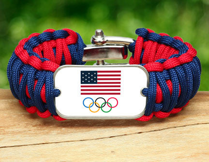 WIDE Survival Bracelet™ - Team USA 5-Ring