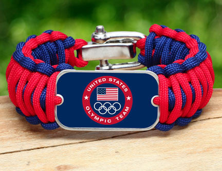 WIDE Survival Bracelet™ - US Olympic Team (Blue)