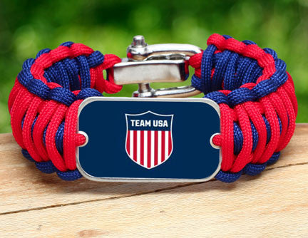 WIDE Survival Bracelet™ - Team USA Shield