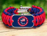WIDE Survival Bracelet™ - US Paralympic Team (Blue)