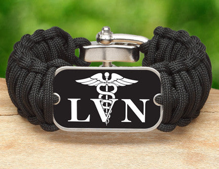 Wide Survival Bracelet™ - Licensed Vocational Nurses Tag