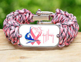 WIDE Survival Bracelet™-Guy Harvey-Camo Pink Ribbon