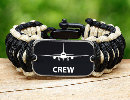 Wide Survival Bracelet™ - Crew Tag
