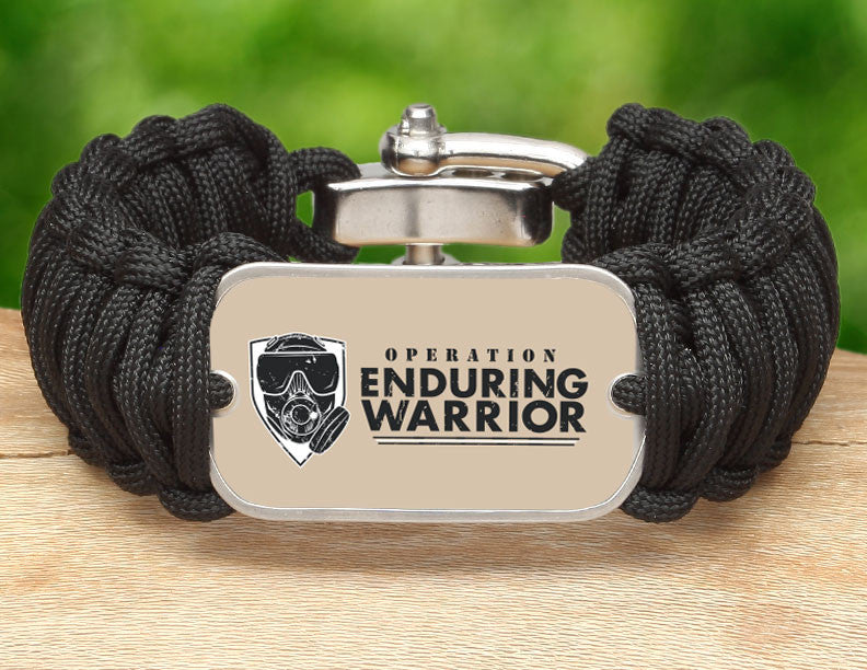Wide Survival Bracelet™ - Operation Enduring Warrior