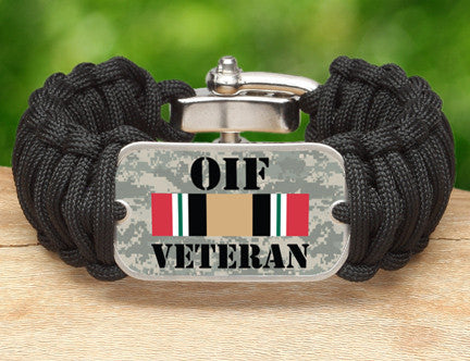 WIDE Survival Bracelet™- OIF Veteran