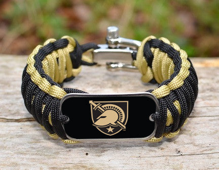 Wide Survival Bracelet™ - Officially Licensed - U.S. Military Academy®