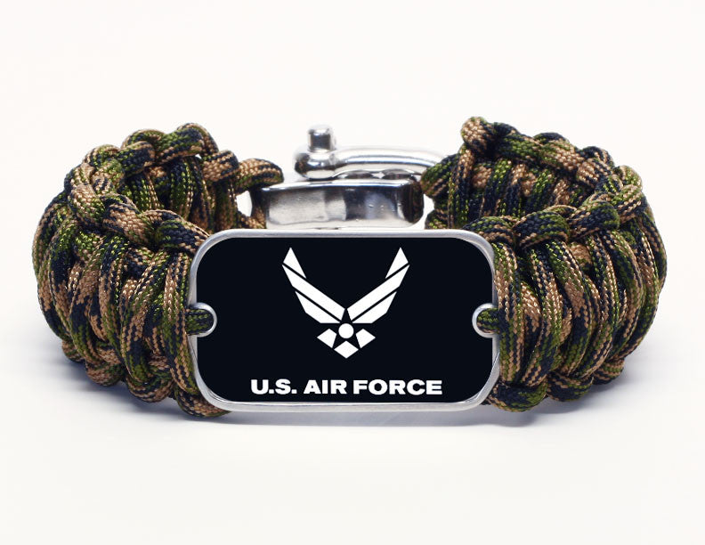 Wide Survival Bracelet™ - Officially Licensed - U.S. Air Force V2