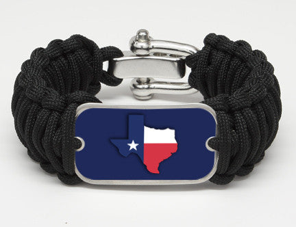 WIDE Survival Bracelet™- Texas State