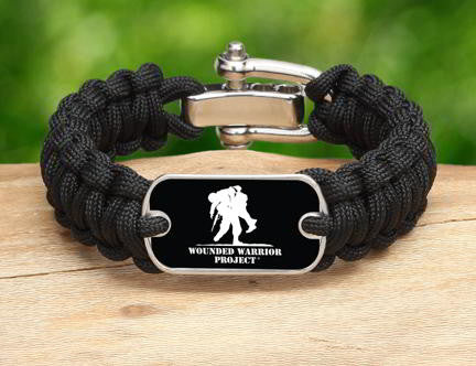 Regular Survival Bracelet - Wounded Warrior Project
