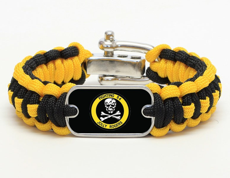 Regular Survival Bracelet™ - Fighting 84 - Yellow