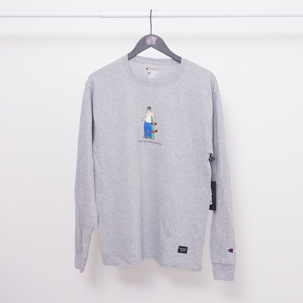 HOMIES X CHAMPION SNOWBOARDER DUDE LONGSLEEVE