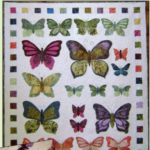 Madame Butterfly Quilt Kit