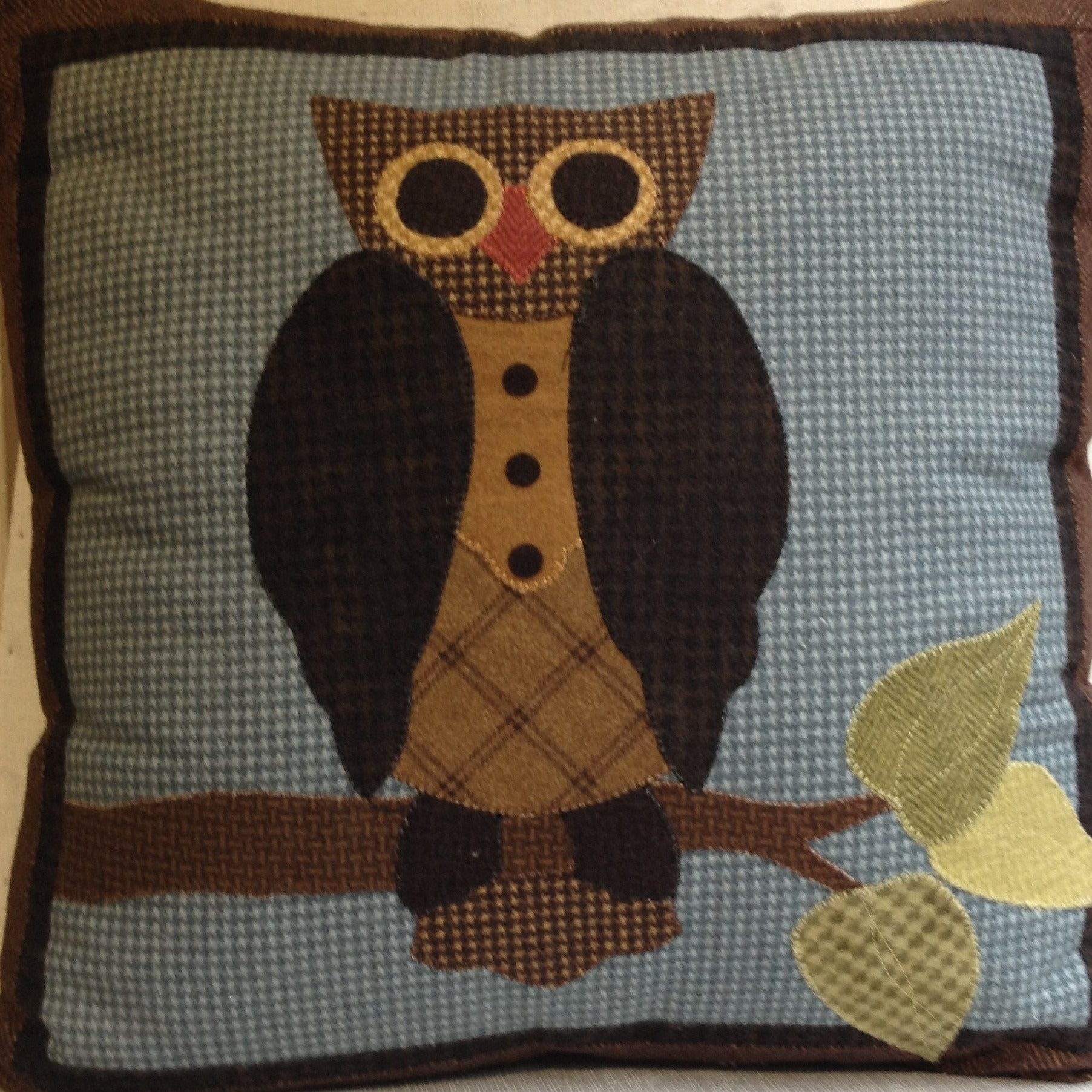 Hanging Out Owl  Pillow Kit