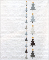 White Christmas ~ Those Trees Quilt Kit