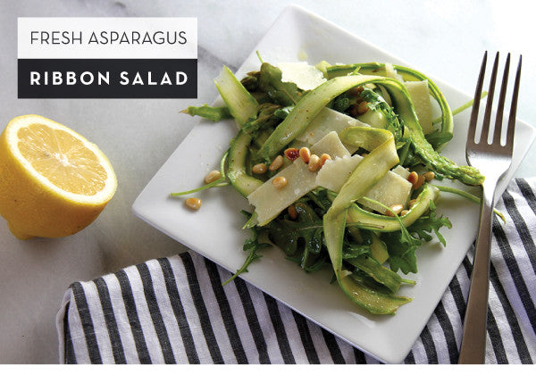Fresh Asparagus Ribbon Salad
