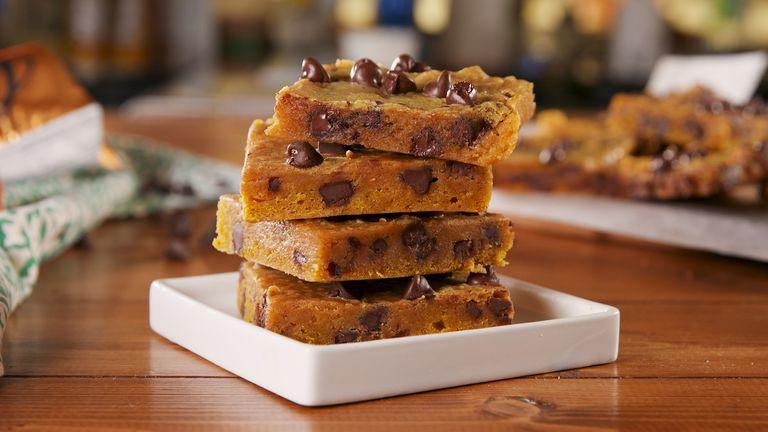 Pumpkin Blondies for the WIN!