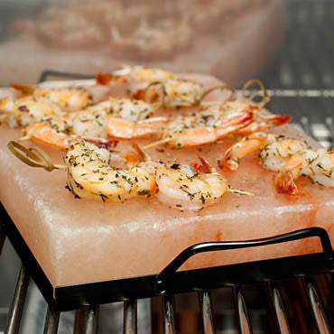 Healthy Grilling with a Himalayan Salt Block