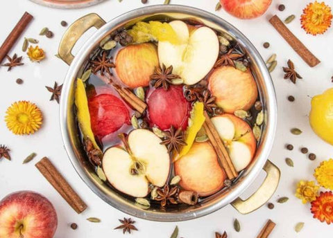 potpourri spices for simmering on the stove
