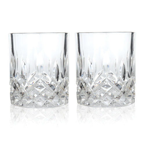 Admiral Crystal Glasses - Set of 2 - Ladles & Linens Kitchen Shoppe