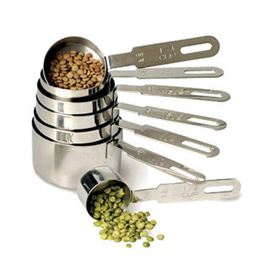 Stainless Steel Measuring Cups - Set of 7