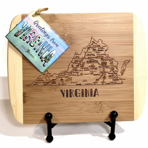 Destination Virginia Cutting - Rectangle