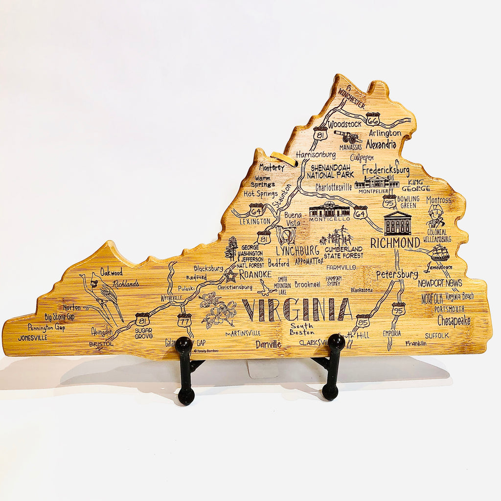 Destination Virginia Cutting and Serving Board