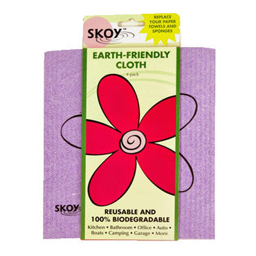 Eco-friendly Cleaning Cloths - 4 pack