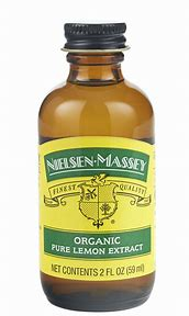 Nielsen Massey Organic Lemon Extract