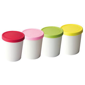 Mini Sweet Treat Ice Cream Tubs - Set of 4