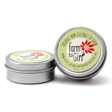 Organic Raw Coconut Lip Balm
