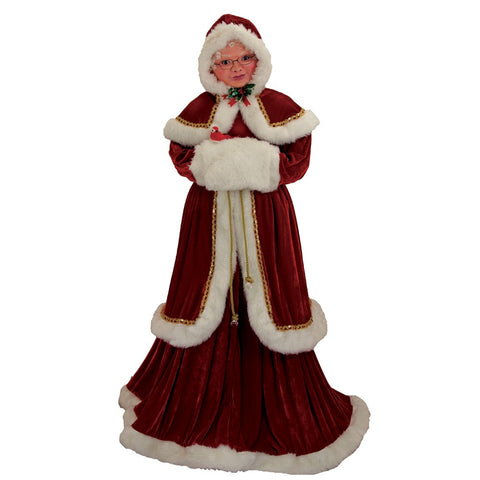 Kurt Adler 68-Inch Kringle Klaus Elegant Mrs. Claus