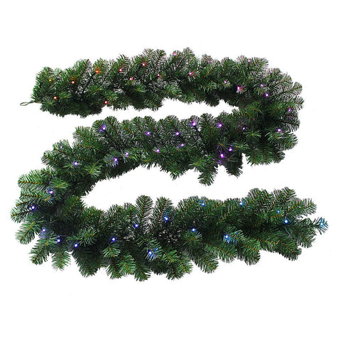 Kurt Adler 9-Foot x 12-Inch Twinkly™ LED Garland