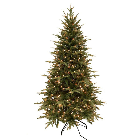 Kurt Adler 6-Foot 400-Light Medium Grand Fir Tree