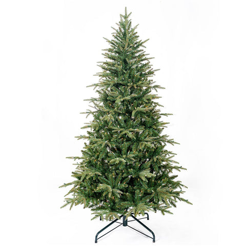 Kurt Adler 6.5-Foot 450-Light Medium Grand Fir Tree
