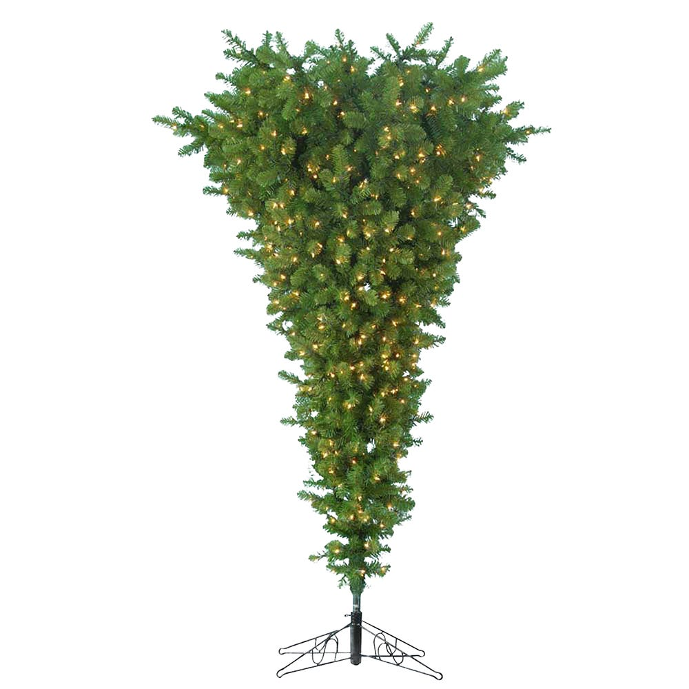 Kurt Adler 7.5-Foot Pre-Lit Upside Down Tree