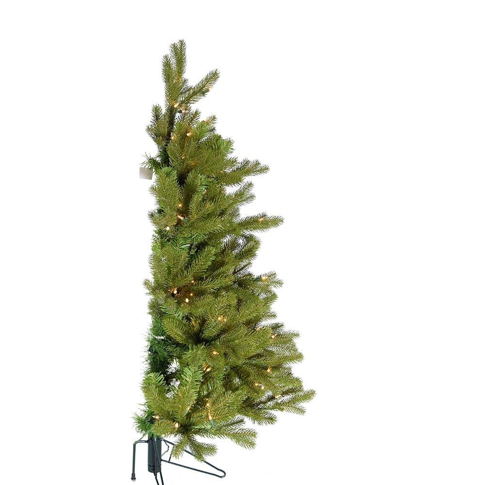 Kurt Adler 5-Foot Pre-Lit PE Half Tree with Stand