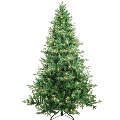 Kurt Adler 7-Foot Pre-Lit Clear Incandescent Jackson Pine Tree