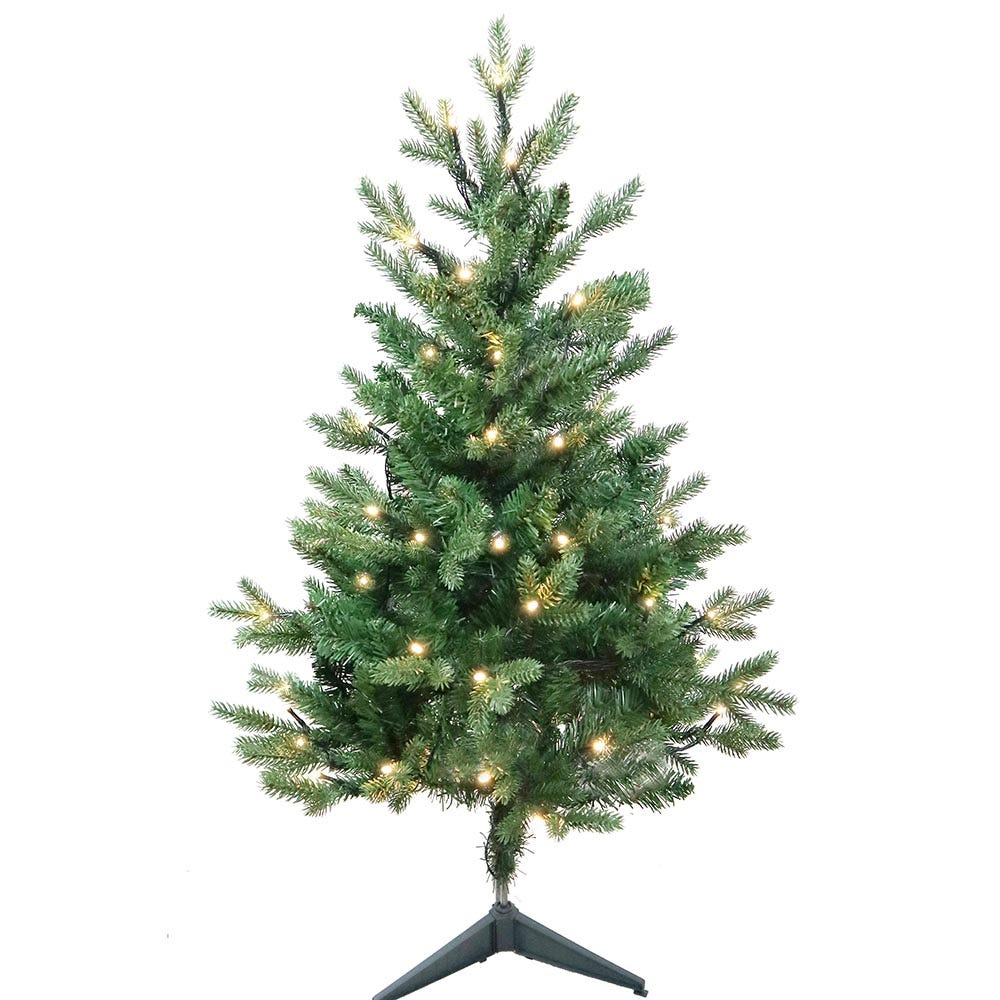Kurt Adler 3-Foot Warm White LED Jackson Pine Tree