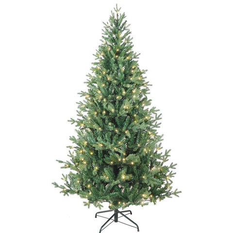 Kurt Adler 6-Foot Warm White LED Jackson Pine Tree