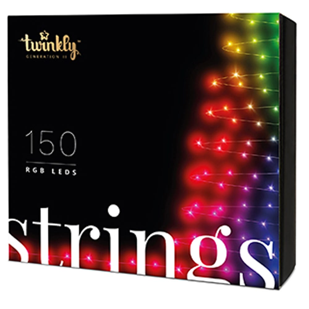 Kurt Adler 150-Light RGB LED Twinkly Light Set