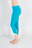 Women's Tonic Blue Crop Pant Activewear