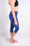 Addison Printed Capri