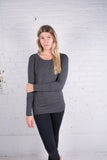Harley Heather Open Back Tunic