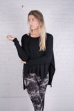 Long Poncho Top